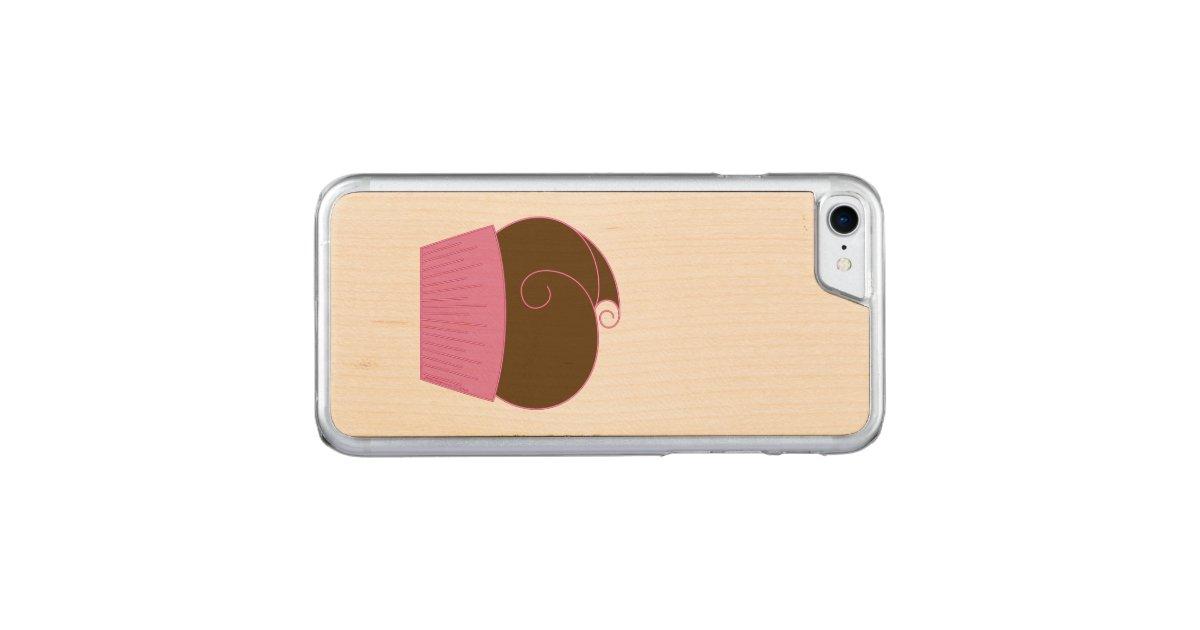 schokoladen kuchen rosa verpackung carved iphone 7 h lle zazzle. Black Bedroom Furniture Sets. Home Design Ideas