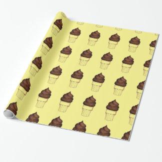Schokoladen-Strudel-weiche Einpackpapier