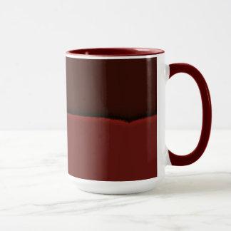 Schokoladenbraune 15 Unze Wecker-Tasse Browns Tasse