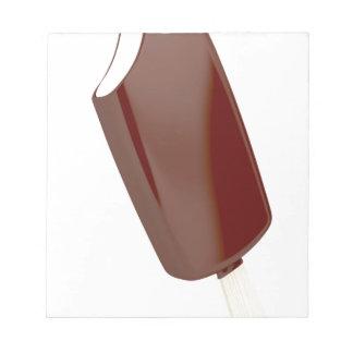 SchokoladenEiscreme Notizblock