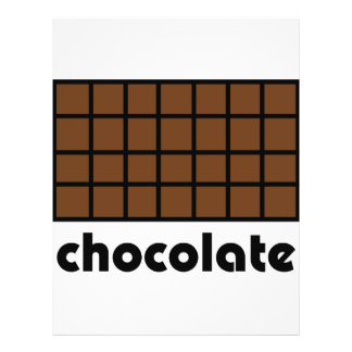 Schokoladenikone 21,6 X 27,9 Cm Flyer