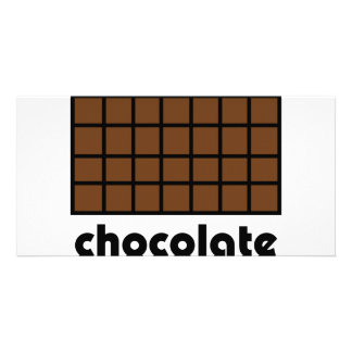 Schokoladenikone Bild Karte