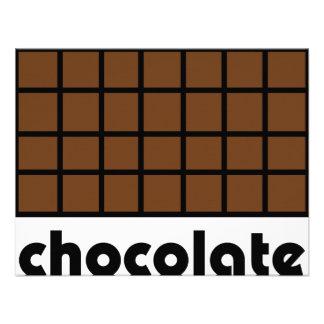 Schokoladenikone Einladung