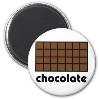 Schokoladenikone Runder Magnet 5,1 Cm