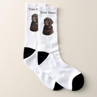 Schokoladenlabrador-Hund Socken