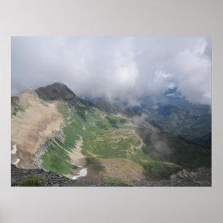 Schöne Berge Poster