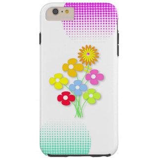 Schöne Blume Tough iPhone 6 Plus Hülle