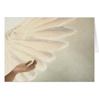 Schöne Engels-Flügel - kümmerte sich u. Ruhe Karte