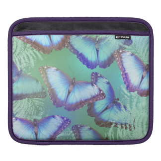 Schöne helle Schmetterlinge iPad Sleeve