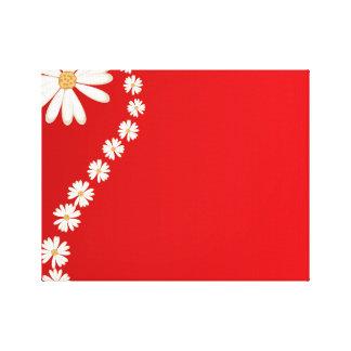 schöne Hintergrundschönheits-Blüten-Blume Gespannter Galerie Druck