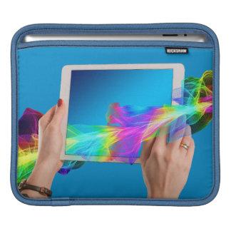 Schöne iPad Auflage horizontal iPad Sleeve