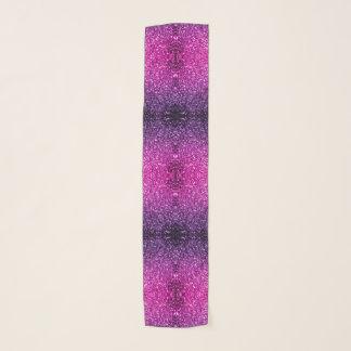 Schöne lila rosa Ombre Glitter-Glitzern Schal