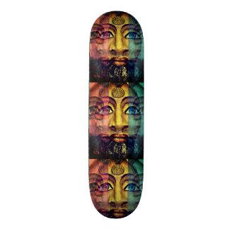 Schöne Malerei der ägyptischen Göttin 19,1 Cm Old School Skateboard Deck