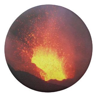 Schöne Nachtvulkanische Eruption Radiergummis 0