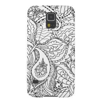 Schöne Pensel Kunst-Telefonabdeckung Galaxy S5 Hülle