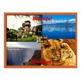 Schöne Simbabwe-Postkarte Postkarte
