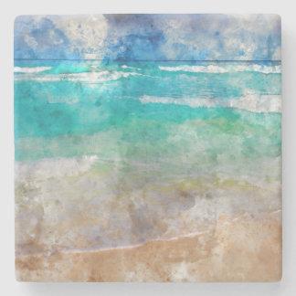 Schöner Cancun-Strand Steinuntersetzer