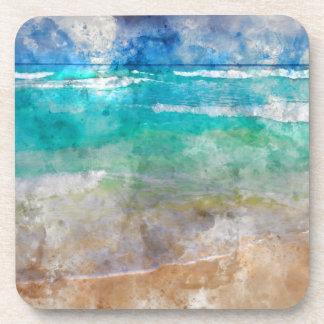 Schöner Cancun-Strand Untersetzer
