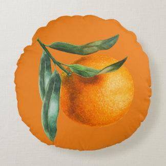 Schöner Florida-Orangen-Morgen Rundes Kissen