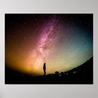 Schöner Himmel Poster