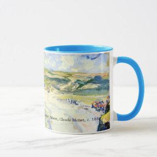 Schöner Impressionismus-landschaftlicher Strand Tasse