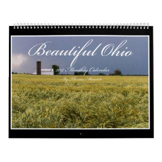 Schöner Kalender Ohios 2017 durch Thomas Minutolo