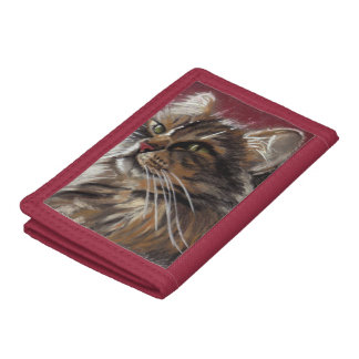 Schöner Träumer - Maine-Waschbär-Katzen-Geldbörse