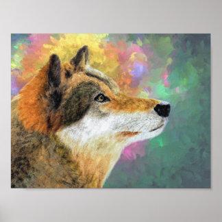 Schöner Wolf Poster