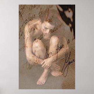 Schönes Frauen-Kunst-Plakat Poster