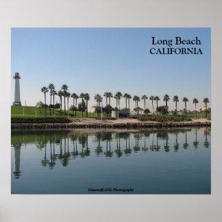 Schönes Long Beach! Poster