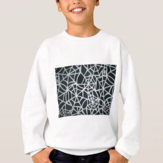 Schönes Zebra-Netz von Schwarzweiss-Stripes.JPG Sweatshirt