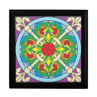 Schönheits-Kasten Große Quadratische Schatulle