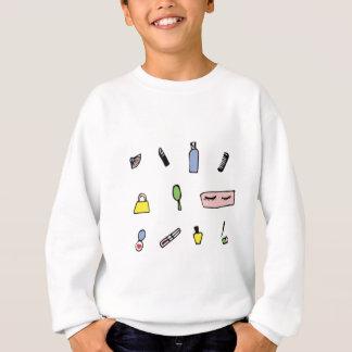 Schönheits-Produkt-Muster Sweatshirt