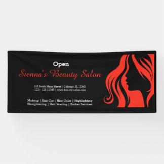 Schönheits-Salon (Firebrick) Banner