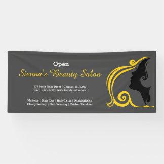 Schönheits-Salon (Gold) * wählen Sie Banner