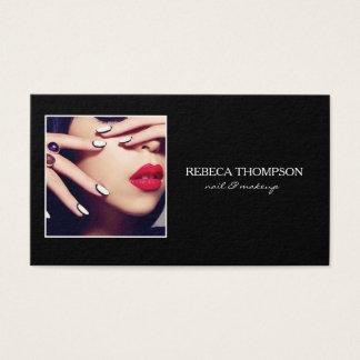 Schönheits-Salon-Nagel u. Make-up Profesional Visitenkarte