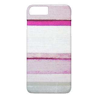 """""""Schönheits-Schlaf-"""" Rosa und graue abstrakte iPhone 8 Plus/7 Plus Hülle"""