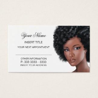 Schönheits-Verabredung Visitenkarten