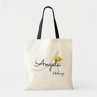 Schönheitsmonogramm-Taschentasche für Budget Stoffbeutel