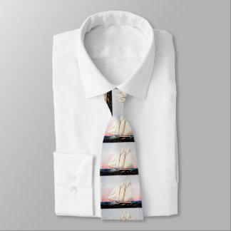 Schooneryachten Krawatte