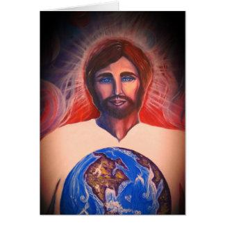 Schöpfer, Richter, Retter der Welt Karte