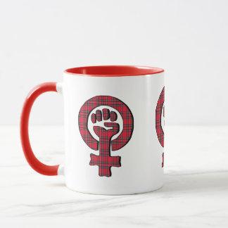 Schottische feministische Unabhängigkeits-Tasse Tasse