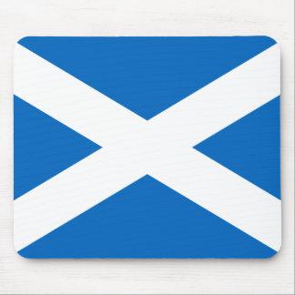 Schottische Flagge Quersalzes Schottlands St Mauspads