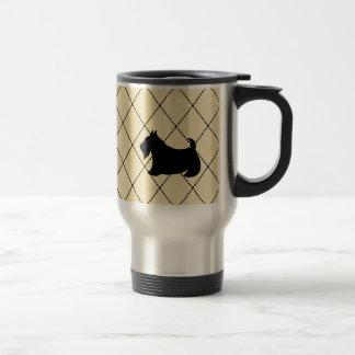 Schottische Terrier Scotty Hundereise-Kaffee-Tasse Reisebecher