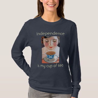Schottische Unabhängigkeit ist meine Tasse Tee T - T-Shirt