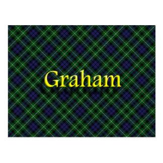 Schottischer Clan Graham Postkarte