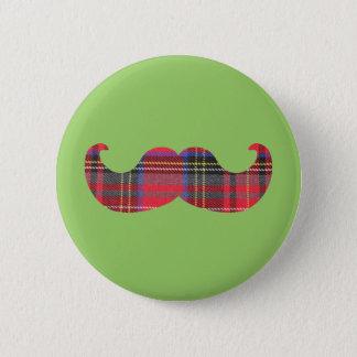 Schottischer Schnurrbart (oder scottache Runder Button 5,1 Cm