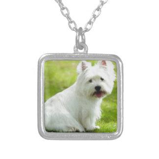 schottischer Terrier Versilberte Kette