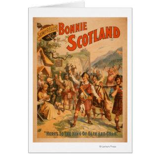 Schottisches Spiel 3 Bonnies Schottland Sidney-R. Grußkarte