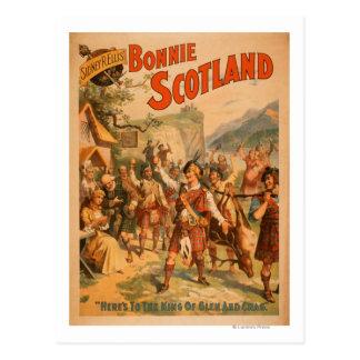 Schottisches Spiel 3 Bonnies Schottland Sidney-R. Postkarten